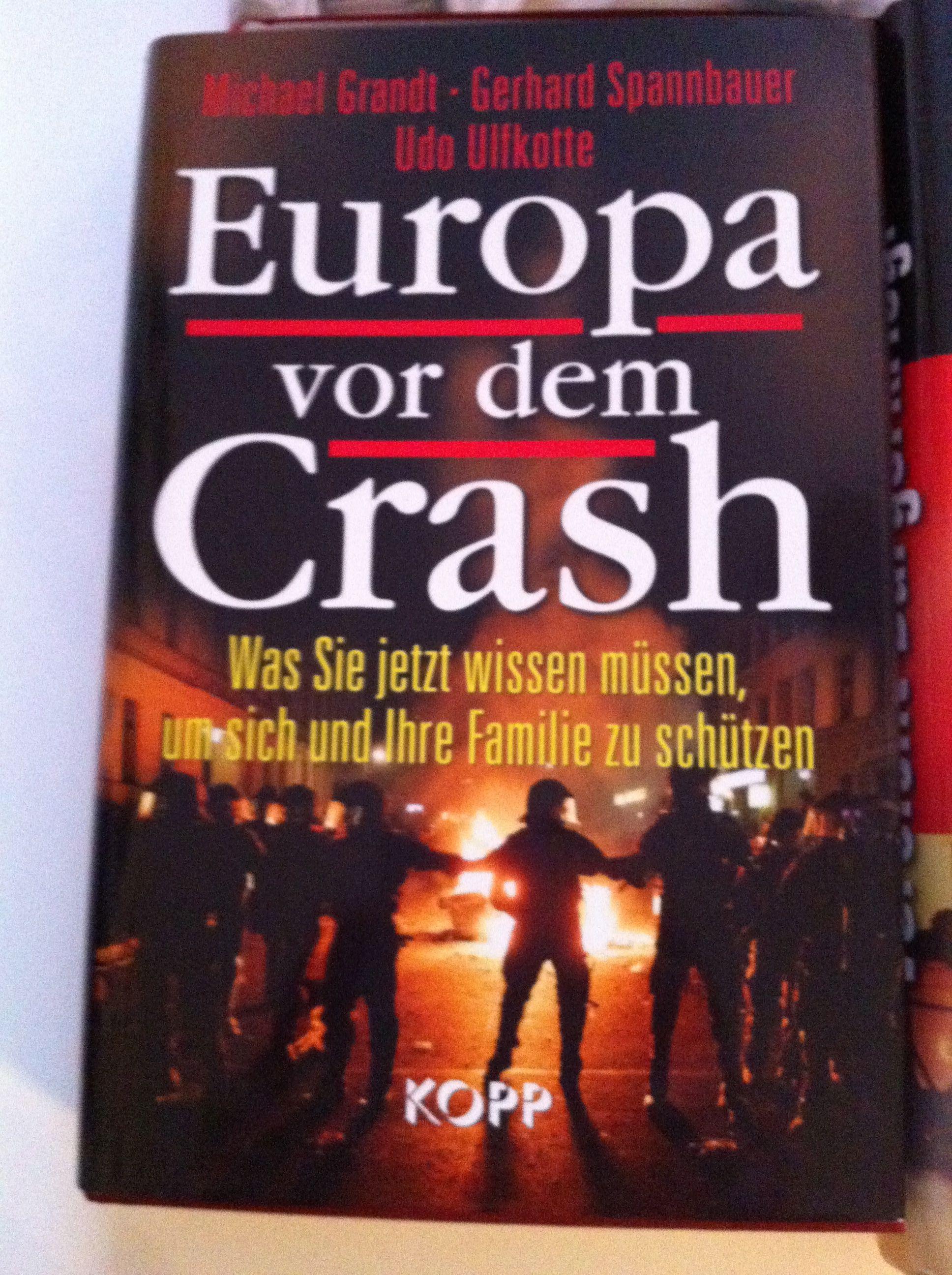 Europa vor dem Crash